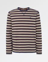 Fat Face Midweight Stripe Crew Neck T-Shirt