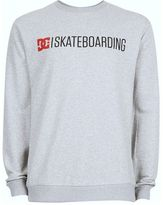 Dc Grey Skateboarding Sweatshirt