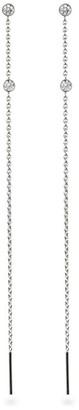 Lena Cohen Fine Jewellery 18K White Gold Duo Diamond Chain Threaders