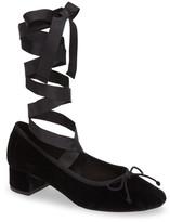 Topshop Kan-Kan Ankle Tie Pump (Women)