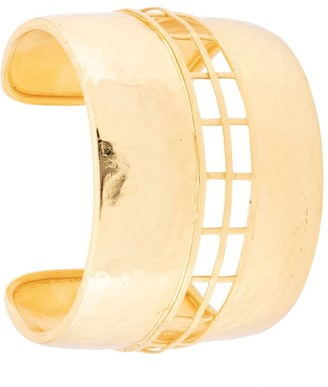 Josie Natori Cage cuff bracelet