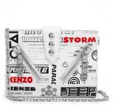 Kenzo Women's Kalifornia Wallet on a Chain White