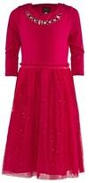 Joules Pink Star Print Dress