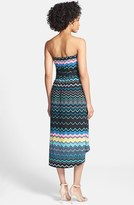 Nordstrom FELICITY & COCO Strapless Blouson Jersey Dress (Regular & Petite Exclusive)