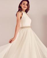Ted Baker Embellished tulle bridal dress