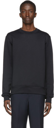 Acne Studios Black Logo Zip Sweatshirt