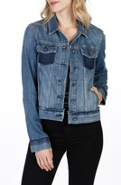 Paige Women's Rowan Deconstructed Denim Jacket