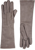 Barneys New York Women's Cashmere-Lined Long Gloves-GREY