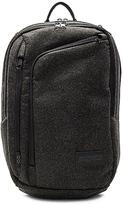 JanSport x I Love Ugly Platform Backpack in Charcoal.