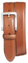 Bosca Men's Double Stitch Leather Belt