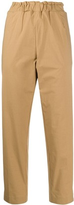 Nine In The Morning Elasticated-Waist Cropped Trousers