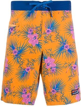 Patagonia Floral-Print Bermuda Shorts