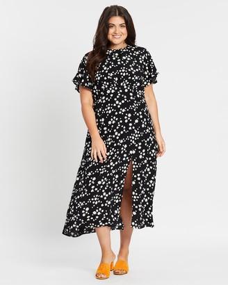 Atmos & Here Gabrielle Midi Dress
