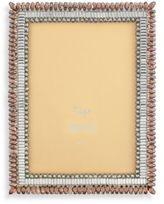 Bed Bath & Beyond Tizo Two-Tone Topaz Jeweled 5-Inch x 7-Inch Picture Frame