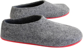 Women's Grey Felted Slippers