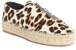 Alexander Wang 'Devon' Genuine Calf Hair Espadrille Flat