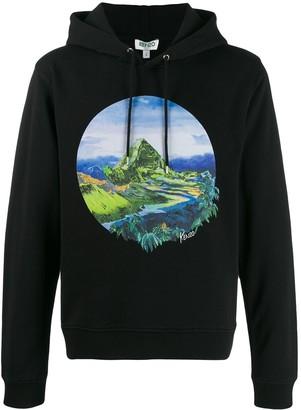 Kenzo Painted Landscape hoodie
