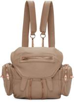 Alexander Wang Brown Mini Marti Backpack
