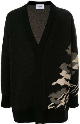 Dondup oversized embroidered cardigan