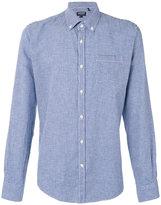 Woolrich checkered shirt - men - Cotton/Linen/Flax - M