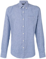 Woolrich checkered shirt - men - Cotton/Linen/Flax - XXL
