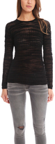 Helmut Lang Eroded Threads Pullover