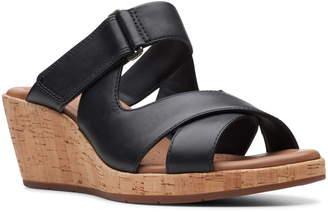 Clarks Un Plaza Slide Sandal