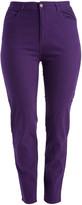 Emperial Premium Women's Denim Pants and Jeans PURPLE - Purple Twill Skinny Jeans - Plus