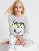 Marks and Spencer SnoopyTM Pyjamas (6-16 Years)