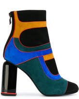 Pierre Hardy geometric colour block ankle boots