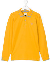 Armani Junior classic polo shirt - kids - Cotton - 14 yrs