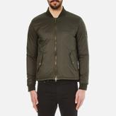 Barbour X Steve McQueen Men's Oil Field Quilt Jacket Sage