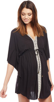 Motherhood Crochet Detail Maternity Swim Cover-up
