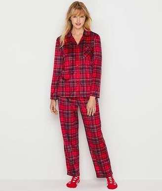 Karen Neuburger Girlfriend Fleece Ski Patrol Pajama & Sock Set