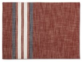 Threshold Yarn Dye Stripe Placemat Red