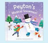 Pottery Barn Kids My Magical Snowman Personalized Book