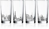 Luminarc Skylines 4-Pc. Highball Glass Set