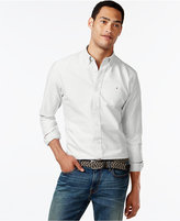 Tommy Hilfiger Men's New England Solid Oxford Shirt