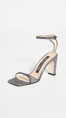 Sergio Rossi Sr1 Square Toe Sandals 85mm