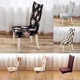 Big Bazaar Bazaar Honana Banquet Elastic Stretch Spandex Chair Seat Cover Party Dining Room Wedding Restaurant Decor