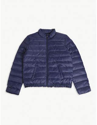 Ralph Lauren Logo-embroidered quilted puffer jacket S-XL