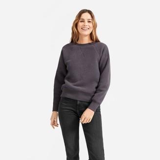 Everlane The ReNew Fleece Raglan Sweatshirt