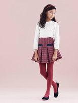 Oscar de la Renta Tweed 2-Pocket Fit And Flare Skirt