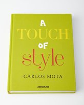 Assouline Publishing A Touch of Style Hardcover Book