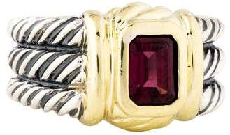 David Yurman Rhodolite Cable Ring