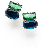 Ippolita 925 Rock Candy Wonderland Omega Two-Stone Earrings in Taffeta