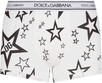Dolce & Gabbana Star Print Trunks