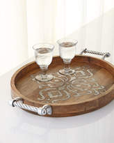 GG Collection G G Collection WOOD AND METAL INLAY LARGE O