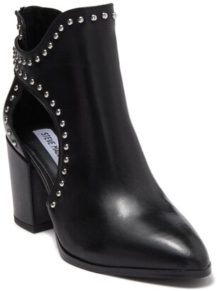 Steve Madden Stud Cutout Ankle Bootie