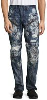 PRPS Apple Straight-Leg Distressed Jeans
